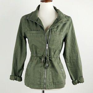 Army Green Utility Coat